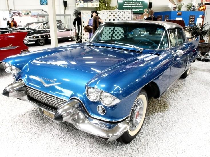 Blue Cadillac Eldorado
