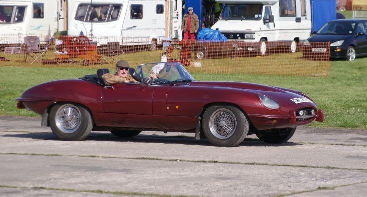 E-Type Jaguar Soft-top