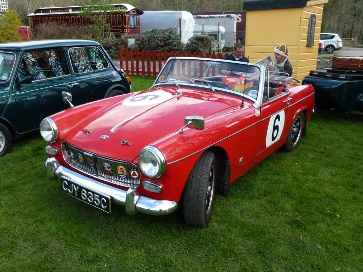 Walsall Two red mg midget teen gets
