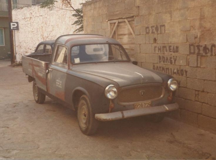 Peugeot on Corfu
