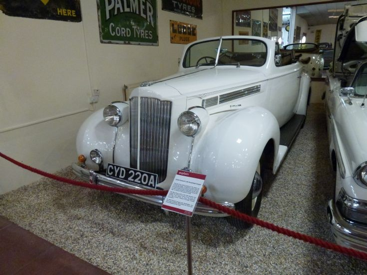 Packard 120 Drophead Coupe