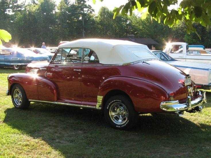 1948 Chevrolet convertible Ottawa Ontario