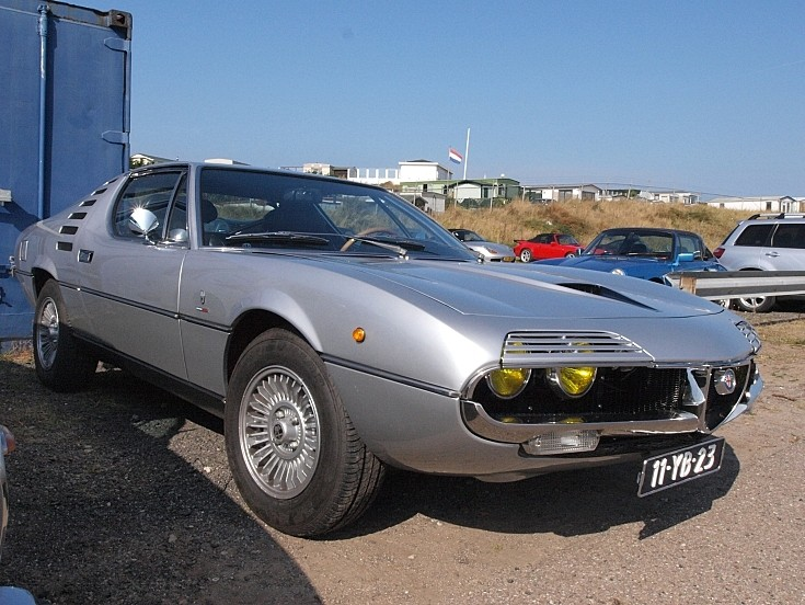 Silver 1975 Alfa Romeo