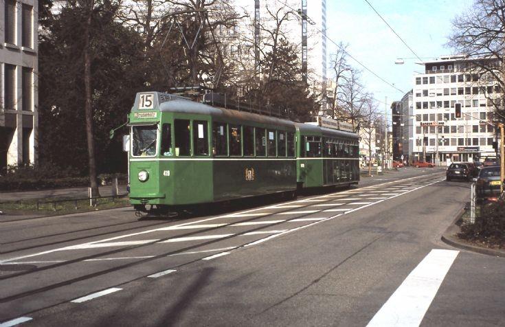 1949 Swiss Standard Tram