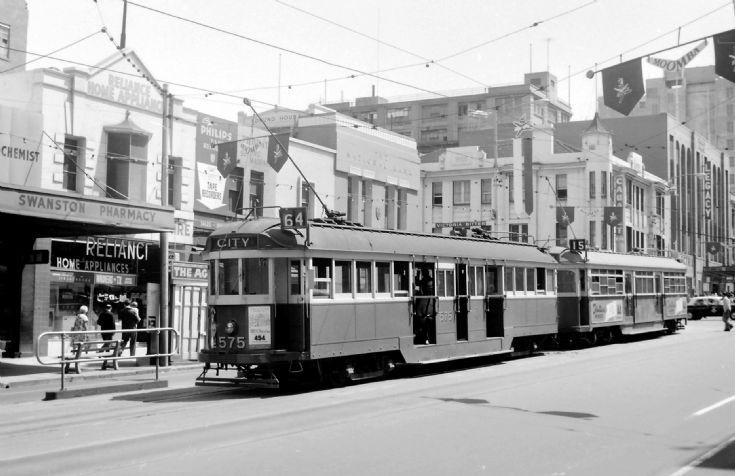 Melbourne tram 575