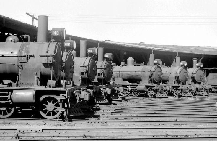 A line up of Rx 4-6-0's