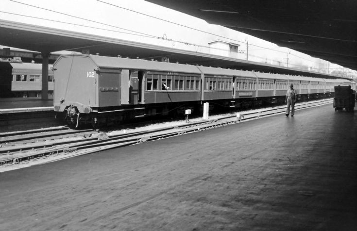 Coaching stock in 1967