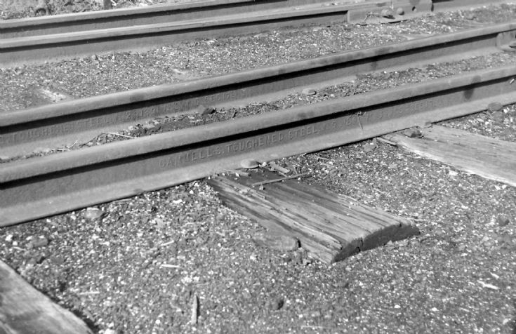 Cammell's Toughened Steel Rail