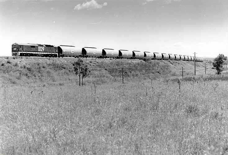Coal train at Whittingham Bank