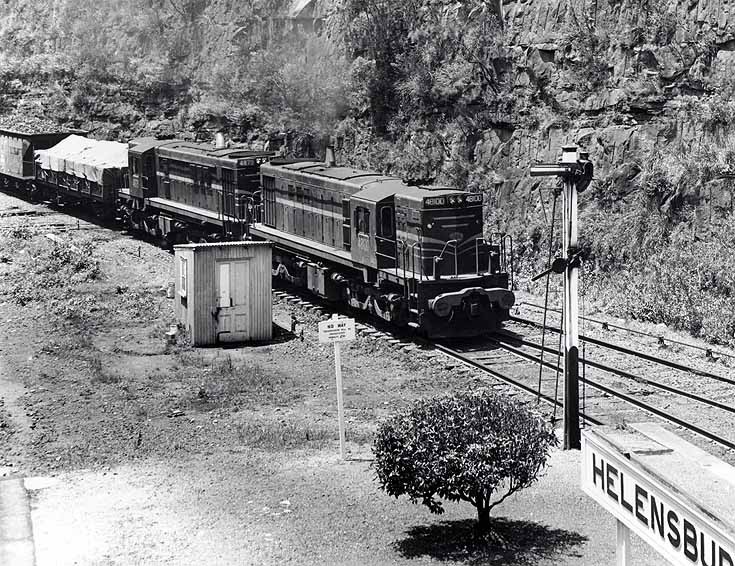 Goods train at Helensburgh