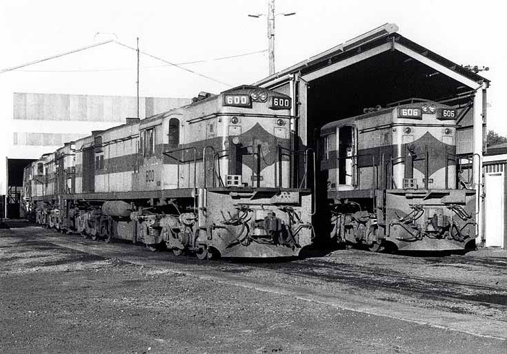600-class diesel locomotive