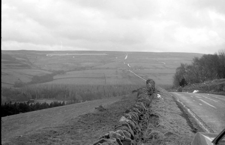 A view near Derwent Reservoir