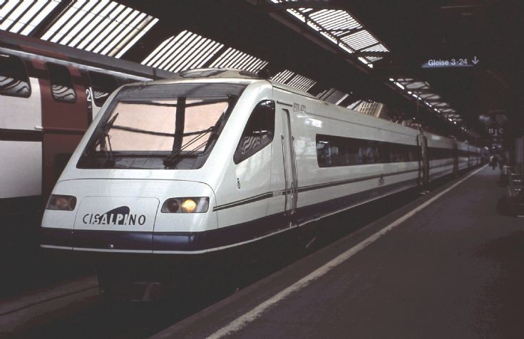 Italian tilting train ETR470