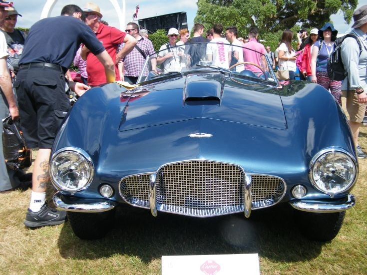 Aston Martin DB2/4 Arnolt Bertone Spyder
