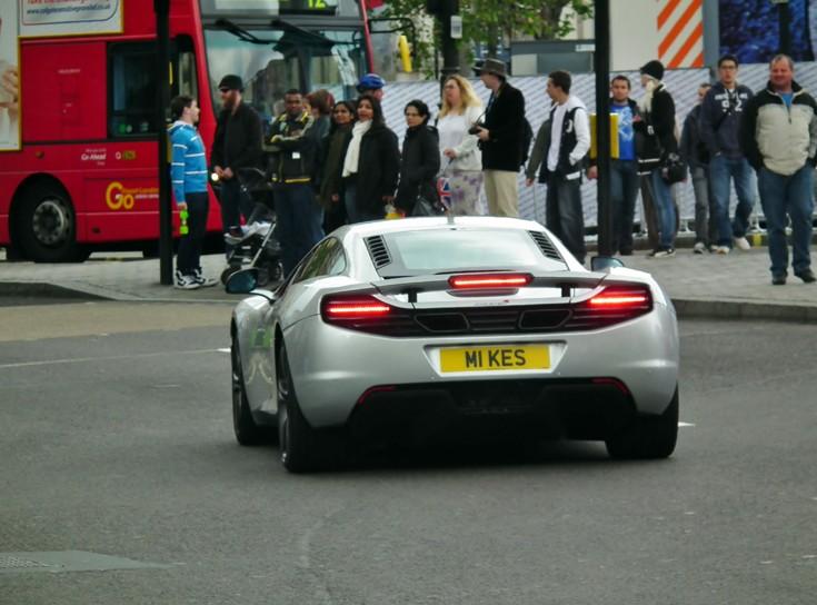 McLaren 2-seater in London