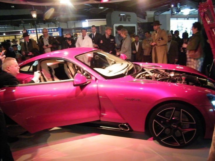 TVR Griffith Official Launch