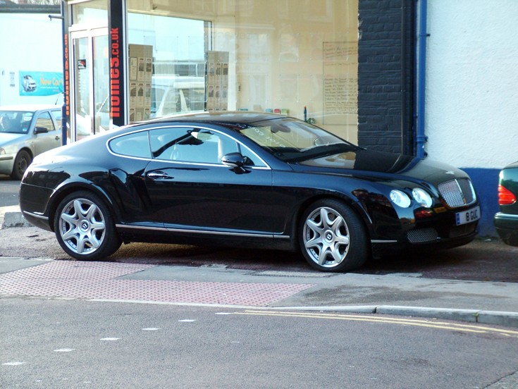 Another Bentley tourer