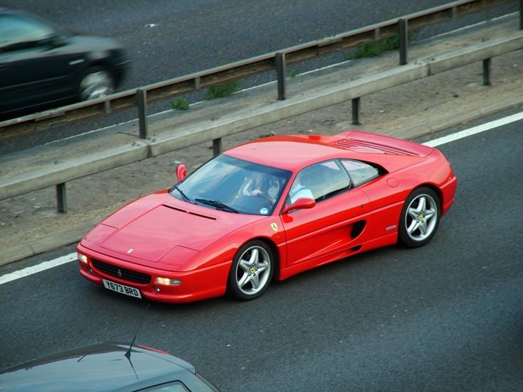 Red Ferrari 355