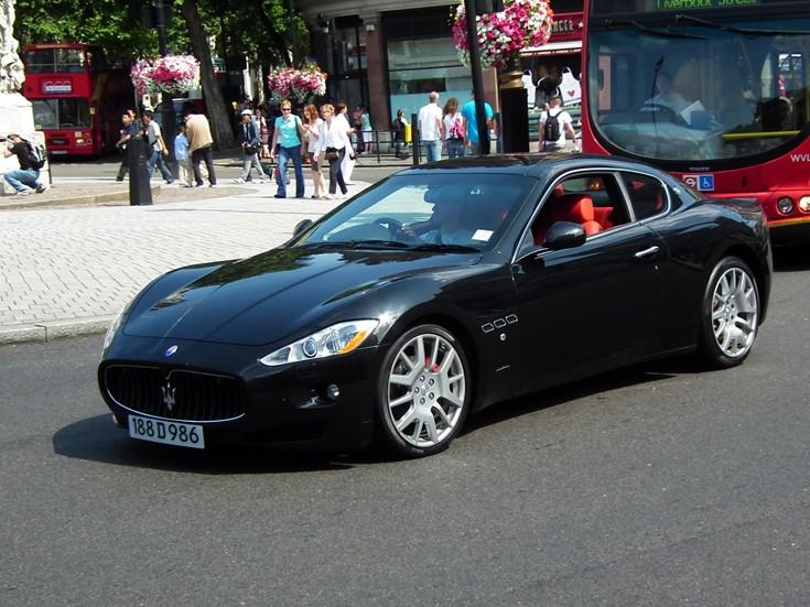 Italian Diplomatic Maserati