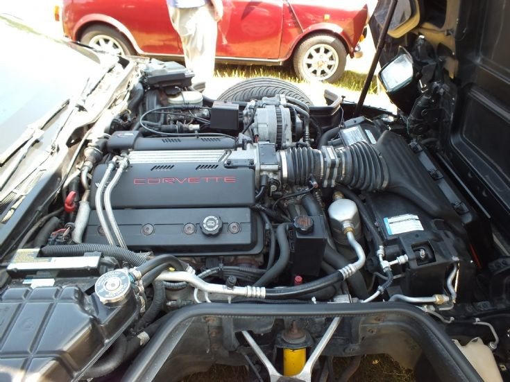 5700cc of Corvette power