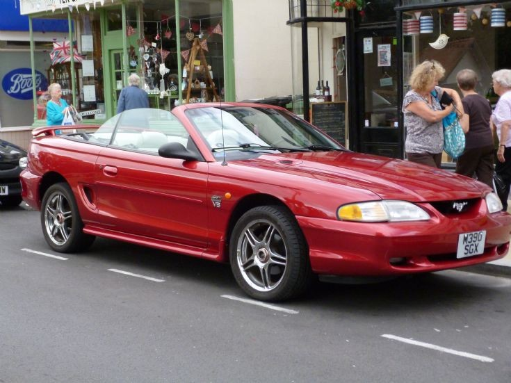 M396 SGX Ford Mustang