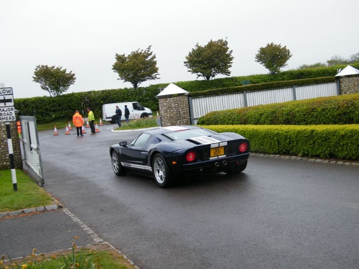 Ford GT. Goodwood Breakfast Club 2015