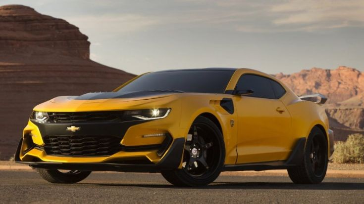 Chevrolet Camaro for Transformers 5
