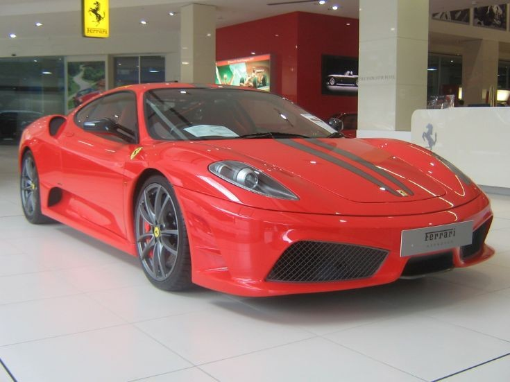 Ferrari 430 Scuderia in Melbourne.