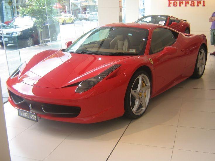 Ferrari 458 Italia in Melbourne.