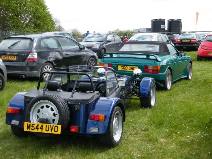 Caterham and TVR
