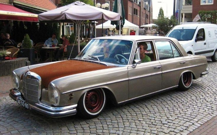 Hotrods and custom cars 1970 mercedes benz 280s for Mercedes benz custom cars