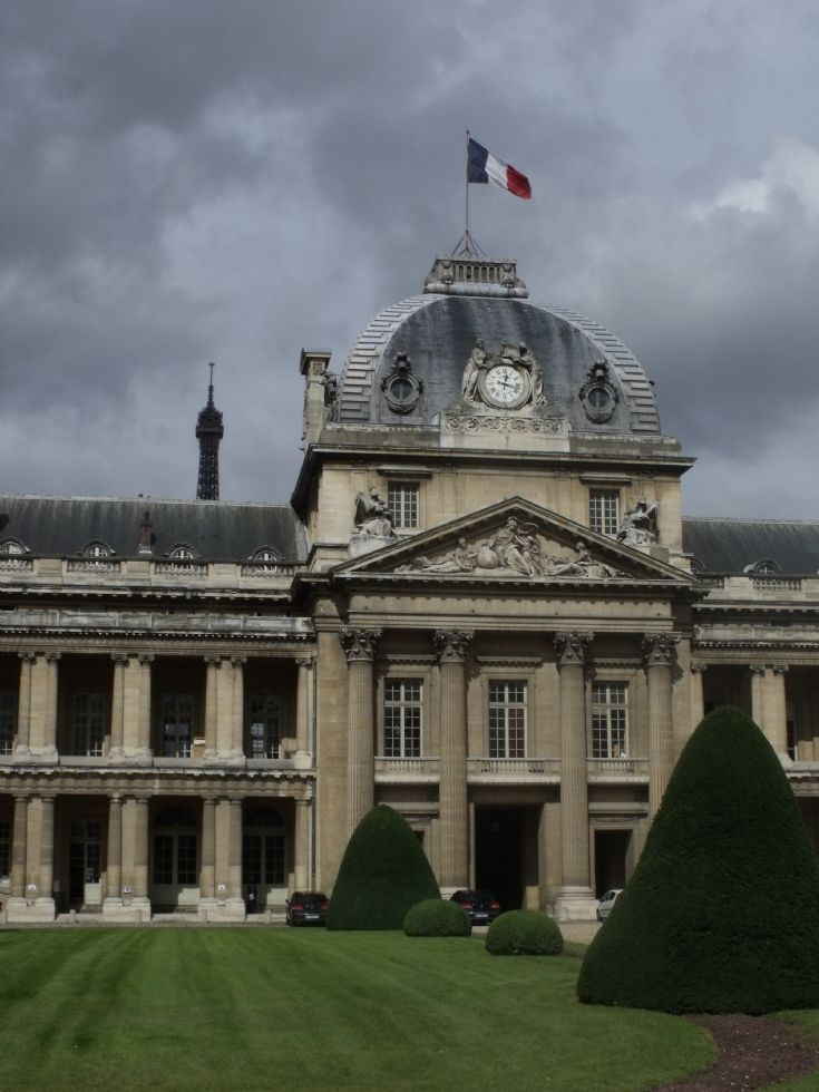 Ecole Militaire de Paris.