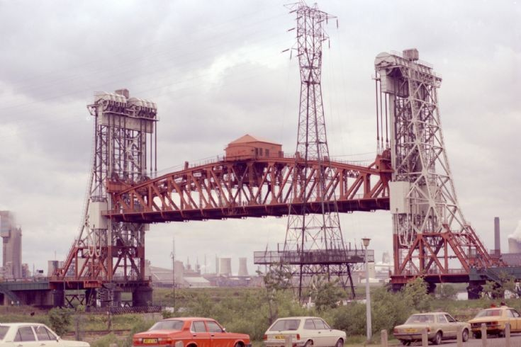 Newport Bridge Middlesbrough 1984