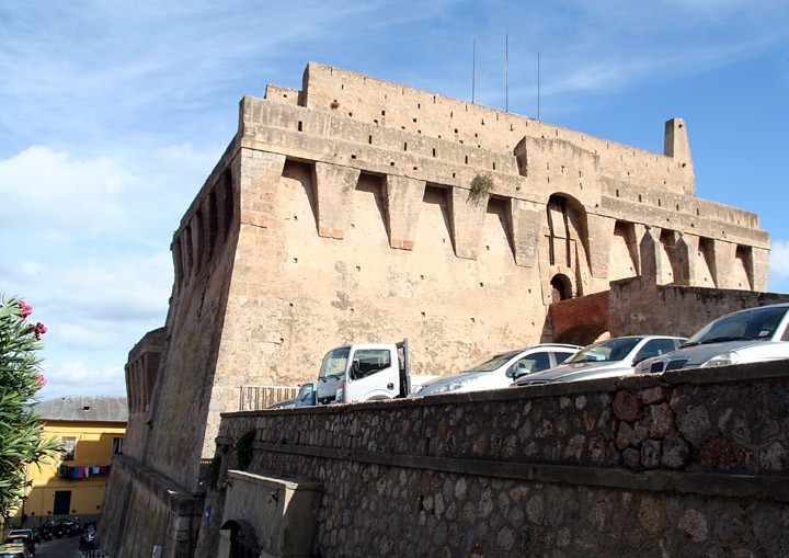 The Spanish Fort, Port Santo Stefano