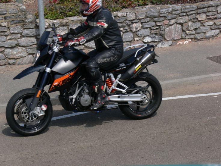 KTM off roader.