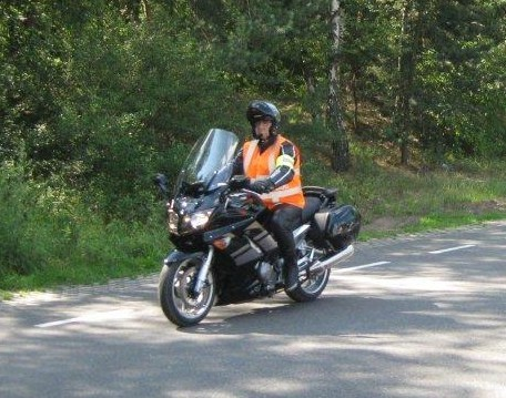 Bike at Bambi Treffen, Traffic Steward 2