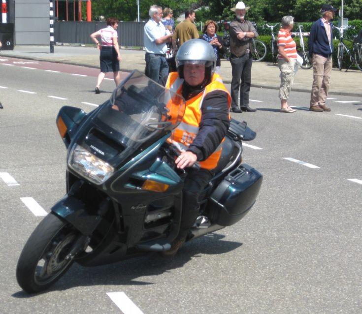 Honda at Bambi Treffen, Traffic Steward 3