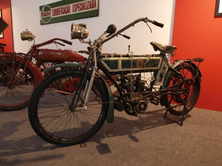 1911 NSU vintage motorbike