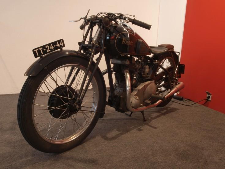 1937 Rudge Whitworth motorbike