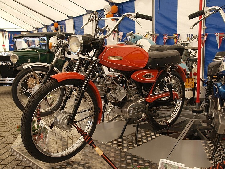 Preserved Flandria moped