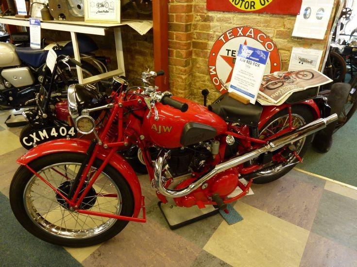 1936 AJW Red Fox