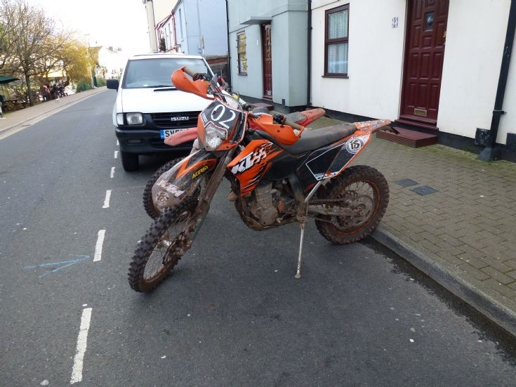 2nd of the 8 a KTM