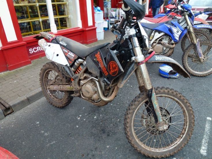 7th of the 8 off roaders a KTM
