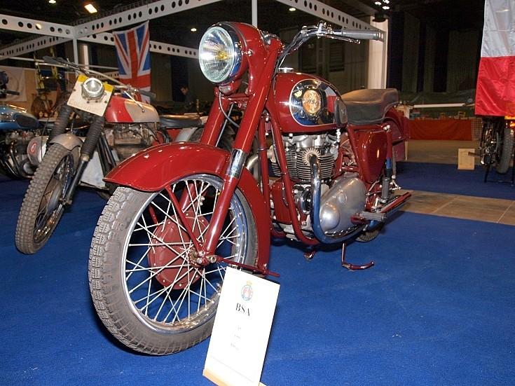 Classic BSA A7 500cc
