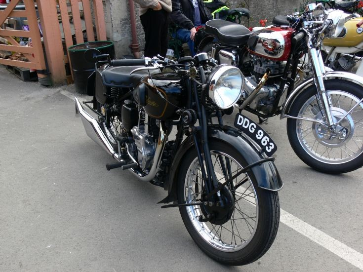 Photo of a classic Velocette