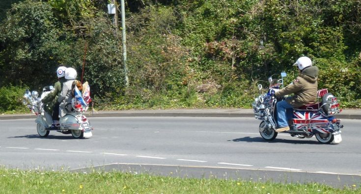 more Scooters - Brighton comes to Dawlish!