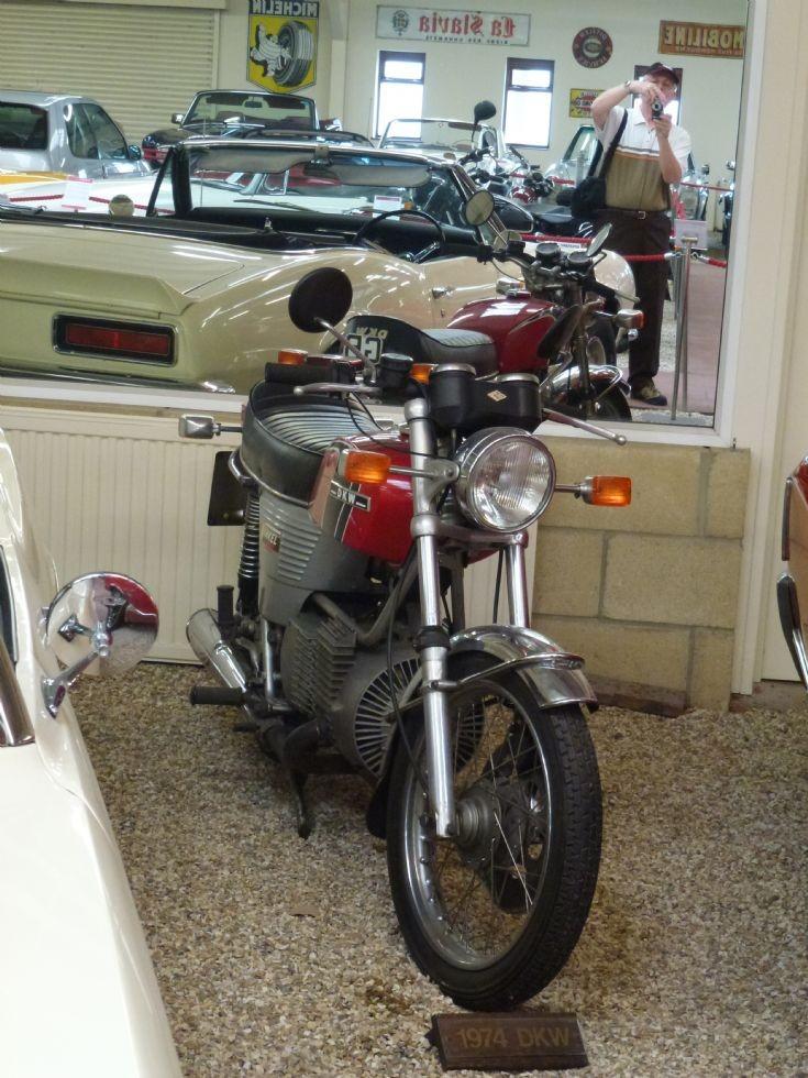 DKW Wankel Rotary at Haynes Motor Museum