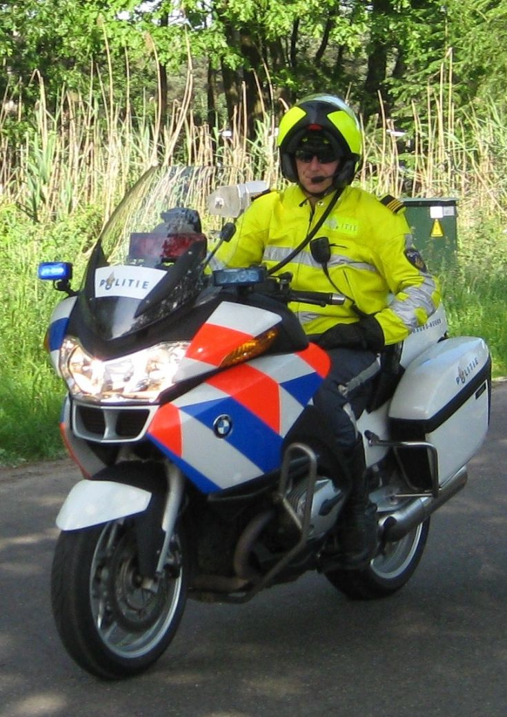 Dutch police bike  BMW
