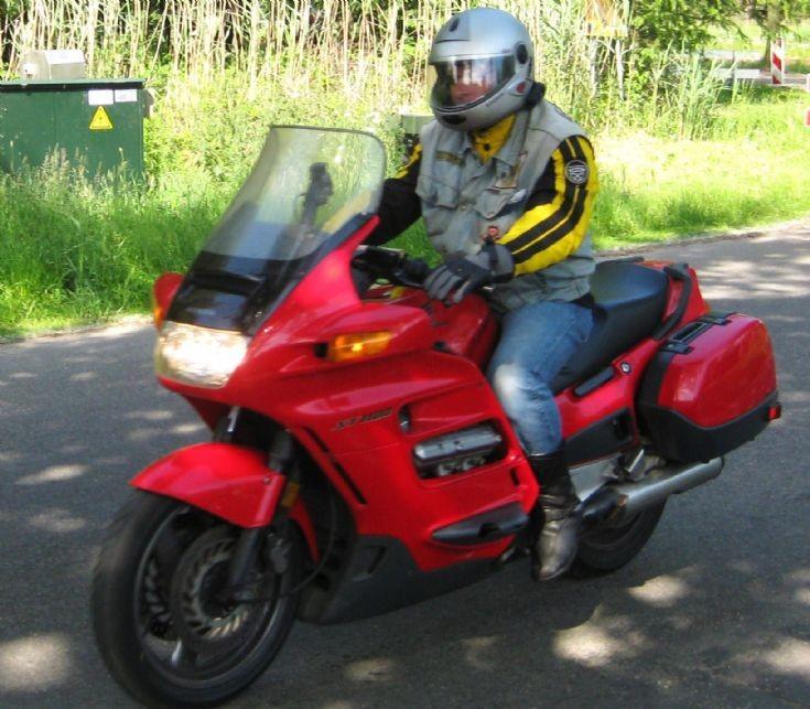 red Honda in Weert.