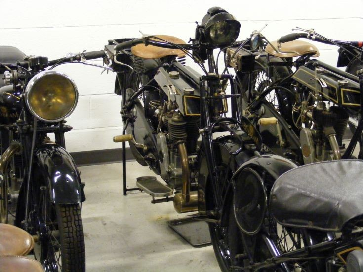Sunbeam Motorcycles at Dudley